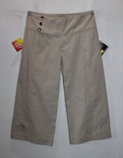 Mountain Designs Brand Repel Fabrics Almond 3/4 Crop Pants Size 8 BNWT #TL83