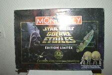 JEU MONOPOLY EDITION LIMITE STAR WARS LA GUERRRE DES ETOILES  VINTAGE 1997