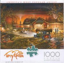 Terry Redlin Buffalo Games Jigsaw Puzzle Morning Warm Up