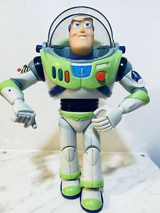 """Disney Toy Story Buzz Lightyear 1995 Thinkway Toys 12"""" Talking Action Figure"""