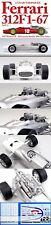 HIRO MFH 1/12 FERRARI 312F1 1967 MONACO GP #18 BANDINI #20 AMON SUPER KIT