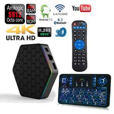 T95Z PLUS 16GB Dual Wifi 5G Amlogic S912 Android 7.1 Bluetooth 1080p 4K TV Box