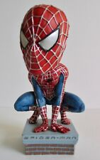 Vintage 2002 Spider-Man Head Knockers Toy Marvel Comics Comic Book Hand Painted
