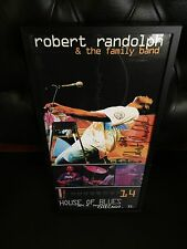 Robert Randolph And The Family Band 2003 Autographed Signed Framed Tour Poster!