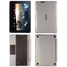 Skinomi Brushed Aluminum Skin+SP for Asus EEE Pad Transformer Prime TF201+KB