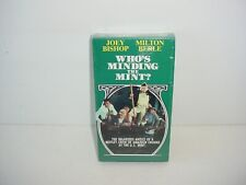 Who's Minding The Mint VHS