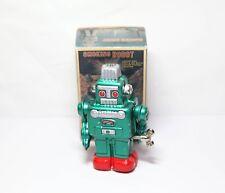 Yonezawa Smoking Robot Japan With Box - Excellent Vintage Clockwork Model