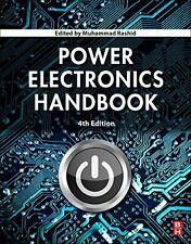 Power Electronics Handbook by Rashid  New 9780128114070 Fast Free Shipping.=