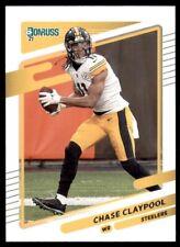 2021 Donruss Base #27 Chase Claypool - Pittsburgh Steelers