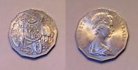 AUSTRALIA SCARCE 1971 50 CENT (50c) AU/UNC OUT OF MINT SET (HJ163.1)