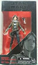 """The Black Series Star Wars Sergeant Jyn Erso Jedha 6"""" Action Figure Hasbro Toy"""
