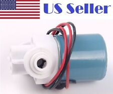 """Plastic solenoid valve,12VDC for drink water, 6.35mm(1/4"""") Quick plug connect"""