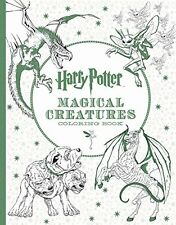 Harry Potter Magical Creatures Coloring Book by Scholastic