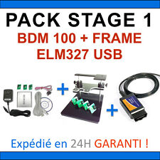 PACK REPROGRAMMATION CALCULATEUR Interfaces BDM 100 ELM 327 USB BDM FRAME / PCK1