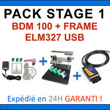 Pack Diagnostic + Programmation - ELM327 USB + BDM100 + BDM FRAME Valise Diag