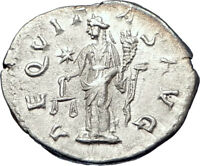 SEVERUS ALEXANDER 222AD  Ancient Silver Roman Coin Equality Aequitas  i73572
