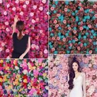 20X Kleine Seide Rose Bud Köpfe Künstliche Gefälschte Blume Hochzeit Gartendeko