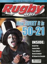 Nz Rugby News 34-23, 30 Jul 2003 Grant Fox, Jason Little, Tony Gilbert