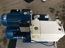 ILMVAC Drehschieber Vakuumpumpe Vacuum Pump Typ 109015 TÜV bis 05/2017