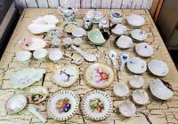 Vtg Far East Asian Japan Fine China Estate 30+ Lot of Teacups Rice Bowls Plates