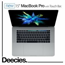 "NEW 2017 15"" Apple MacBook Pro Touch Bar 2.8ghz i7 512gb 16gb Radeon Pro 555 2GB"