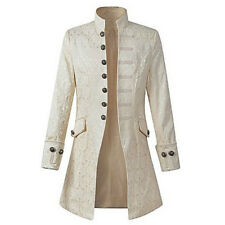 Steampunk Long Sleeve Mens Jacket Military Victorian Coat Party Gothic Tailcoats