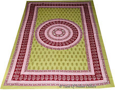 Handmade Mandala Throw Tapestry Bedsheet Bedspread Hippie Wall Hanging Indian