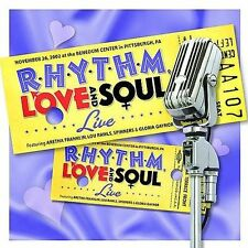 VARIOUS ARTISTS - Rhythm, Love and Soul: Live - CD New w/Free 1st Class Shipping