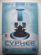 CYPHER DVD - GC - Jeremy Northam, Lucy Liu