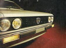 Lancia Beta Coupe 1300 1977 UK Market Multilingual Foldout Sales Brochure