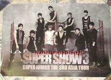 Super Junior SUPER SHOW 3 Concert Korean Promo Poster