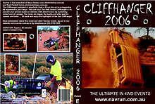 Cliffhanger Outback DVD 2006 Toyota Landcruiser 60 80