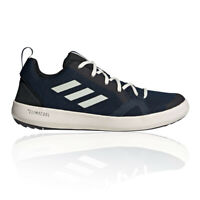 adidas Mens Terrex CC Boat Walking Shoes Navy Blue White Sports Outdoors