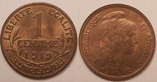 1 Centime Dupuis 1919, SUP à SPL !!