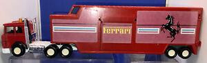 MATCHBOX SUPERKINGS FERRARI K-136 FERRARI TRANSPORTER No Cars Near Mint Unboxed