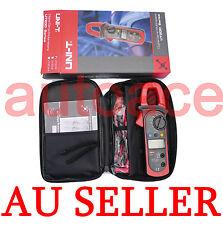 UNI-T ACA&DCA AUTO RANGE CLAMP METER UT204 MULTIMETER True RMS Carrying bag  AU