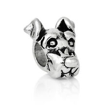dog puppy sausage gift silver Charm Bead European Bracelet charms bangle beads