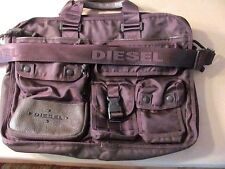 DIESEL Messenger Man Business Laptop Briefcase Satchel Bag large SZ 18x14x4