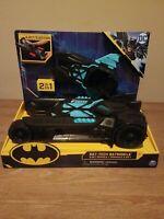 Brand New Spin Master DC Comics Batman Batmobile & Batboat Vehicles Teal/Black