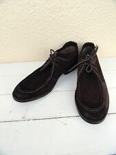 Clarks Delsin Rise 26101895 Lace-Up Brown Suede Oxfords Shoes Men's 9M new