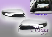 FOR 2009-2018 DODGE RAM 1500 2500 3500 CHROME MIRROR TOPHALF COVERS NO SIGNAL US