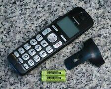Panasonic KX-TGEA40 B DECT 6.0 Handset W/ Batteries, Belt Clip Tested Free Ship