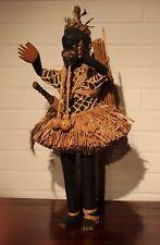 CONGO old african figure ancien statue d'afrique SALAMPASU africa kongo dancer