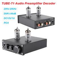 Valve Tube Preamplifier Amplifier HIFI Stereo Audio Pre-amp Preamp Turntable Amp