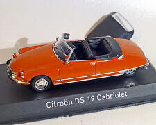 CITROEN DS 19 Convertible, rojo, NOREV 1:43