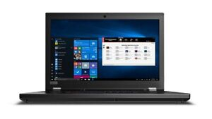 "New Lenovo ThinkPad P53 Workstation Laptop PC 15.6"" UHD 4K i7 32GB 4GB T2000 Pro"