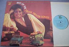 BEST TRUCK DRIVER SONGS USA Gusto MINT VINYL Red Sovine Willis Bros etc