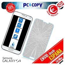 S464 Cristal templado pantalla Samsung Galaxy S5 SM-G900F-SM-G900H Premium 0,3mm