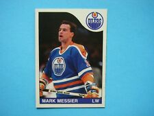 1985/86 O-PEE-CHEE NHL HOCKEY CARD #177 MARK MESSIER NM SHARP!! 85/86 OPC