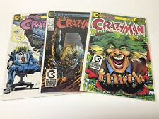 CRAZYMAN #1-3 (CONTINUITY COMICS/NEAL ADAMS/JOKER HOMAGE/0617474) FULL SET OF 3
